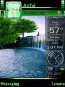 Waterfall Symbian Mobile Phone Theme