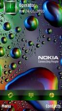 3d Water Symbian Mobile Phone Theme