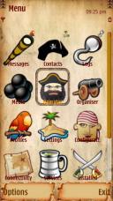 Pirate Symbian Mobile Phone Theme