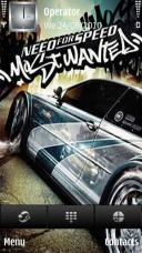 NFS Most Wanted Symbian Mobile Phone Theme