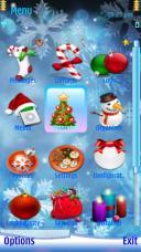 Silent Night Symbian Mobile Phone Theme