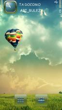 Air Balloon Symbian Mobile Phone Theme