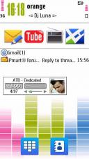 Equalizer Symbian Mobile Phone Theme