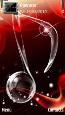 Music Symbian Mobile Phone Theme