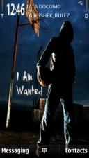 Wanted Boy Symbian Mobile Phone Theme