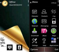 Life Goes On Symbian Mobile Phone Theme