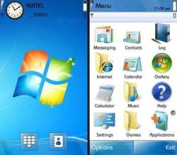 Download Free Symbian Theme Windows 7 - 563 - MobileSMSPK net