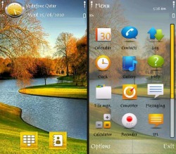 Nice Nature Symbian Mobile Phone Theme