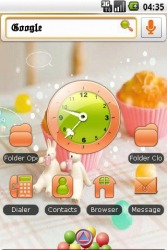 Dining Table Android Mobile Phone Theme