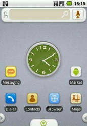 Simple Gray Android Mobile Phone Theme