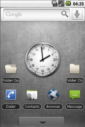 Simple Android Mobile Phone Theme