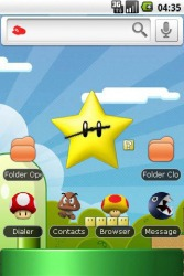 Super Mario Android Mobile Phone Theme