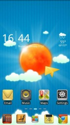 Sun And Sky Go Launcher