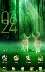 Forest GO Launcher EX
