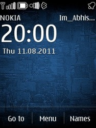 Download Free S40 Theme Nokia Blue - 943 - MobileSMSPK