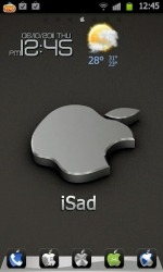 Download Free Android Theme iSad Go Launcher EX - 964