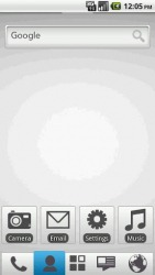 Pearly White TW ADW Android Mobile Phone Theme
