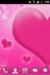 Love Pink GO Launcher EX