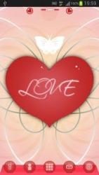 Romantic GO Launcher EX