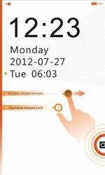 NEX GO Locker Android Mobile Phone Theme