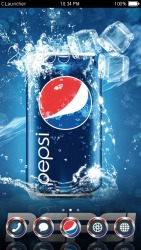Pepsi CLauncher Android Mobile Phone Theme