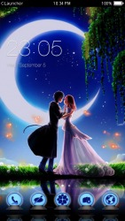 Couple in Moonlight CLauncher