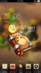 Battleheart Legacy CLauncher Android Mobile Phone Theme