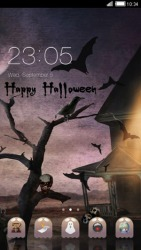Happy Halloween CLauncher Android Mobile Phone Theme