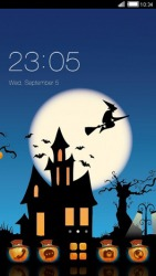 Halloween Night CLauncher Android Mobile Phone Theme
