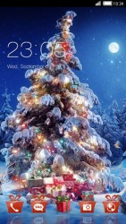 Christmas Tree CLauncher Android Mobile Phone Theme