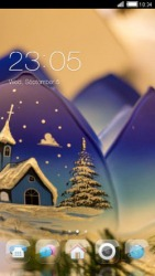 Christmas CLauncher Android Mobile Phone Theme