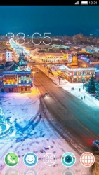 Smart New Year CLauncher Android Mobile Phone Theme