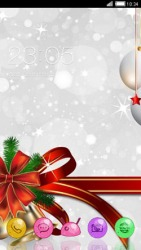 Xmas CLauncher Android Mobile Phone Theme