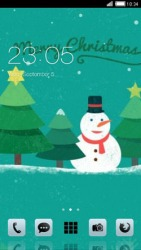 Cristmas CLauncher Android Mobile Phone Theme