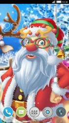 Love Santa CLauncher Android Mobile Phone Theme