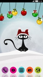 New Year CLauncher Android Mobile Phone Theme