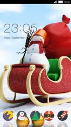 Christmas Rush CLauncher Android Mobile Phone Theme