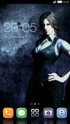 Resident Evil 6 CLauncher Android Mobile Phone Theme