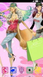 Girl Rules CLauncher Android Mobile Phone Theme