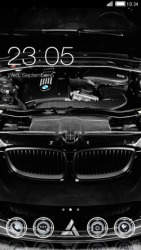 Black BMW CLauncher