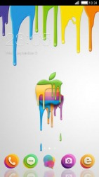 Colorful Apple CLauncher Android Mobile Phone Theme