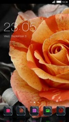 Rose CLauncher Android Mobile Phone Theme