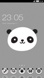 Panda CLauncher Android Mobile Phone Theme