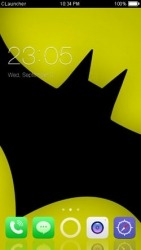 Download Free Android Theme Batman CLauncher - 2516