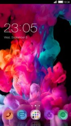 Smoke CLauncher Android Mobile Phone Theme