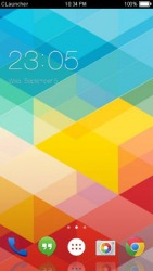 Material Strips CLauncher Android Mobile Phone Theme