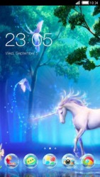 Unicorn CLauncher Android Mobile Phone Theme