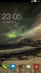 Storm CLauncher Android Mobile Phone Theme