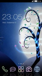 Magical Tree CLauncher Android Mobile Phone Theme