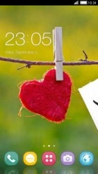 Love Heart CLauncher Android Mobile Phone Theme